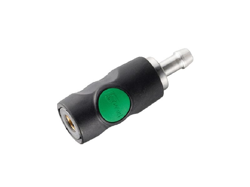 Safetycoupling quick release Euro 8 mm with push button