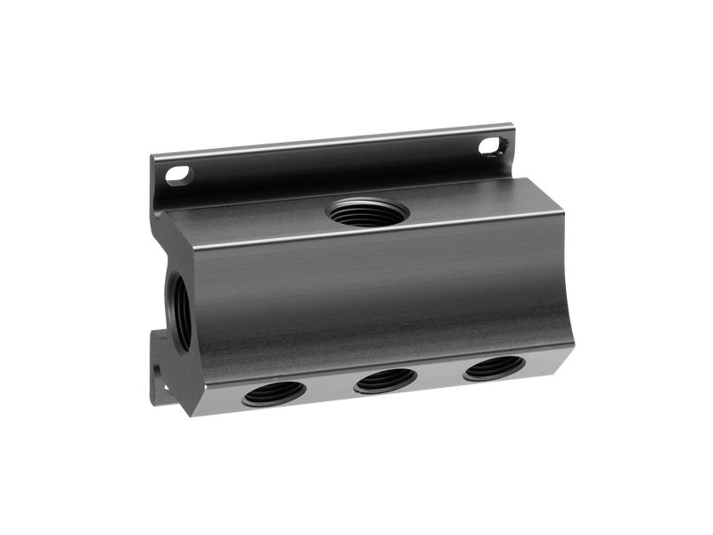 Wall mount manifold 5 outlets 1/2