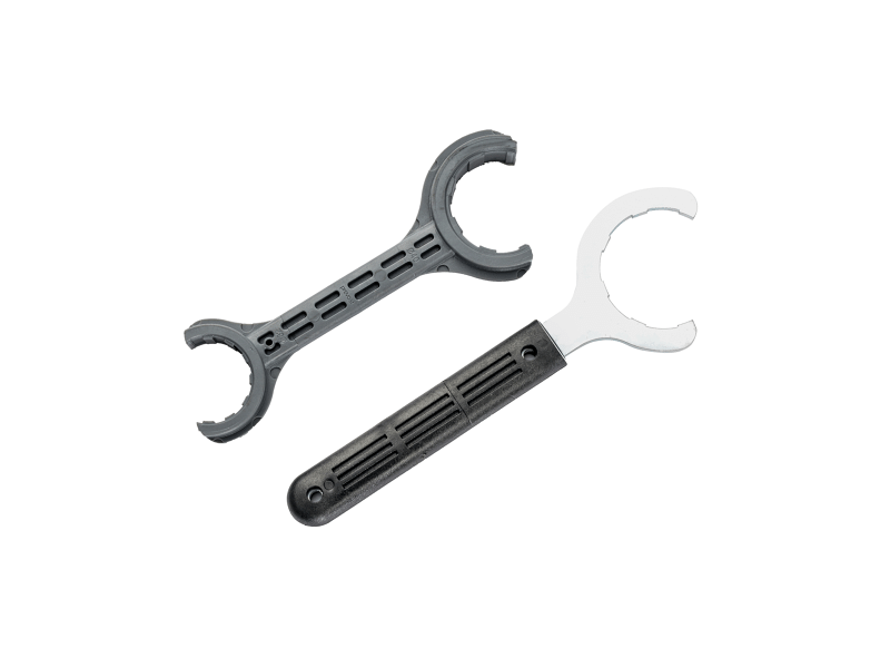 Tightening key for PPS rings 40 x 32 mm