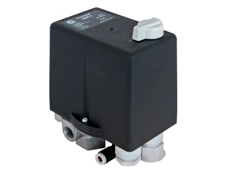 Pressure switch with thermic relay 1/4