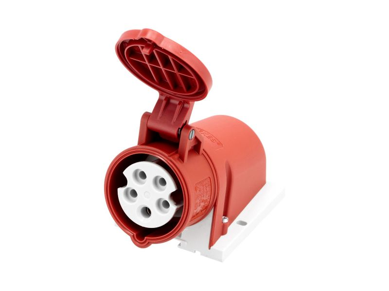 Power socket 400 V 5 pole 16 A