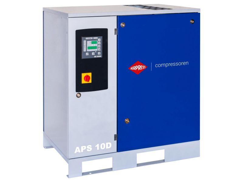 Screw Compressor APS 10D 10 bar 10 hp/7.5 kW 1000 l/min