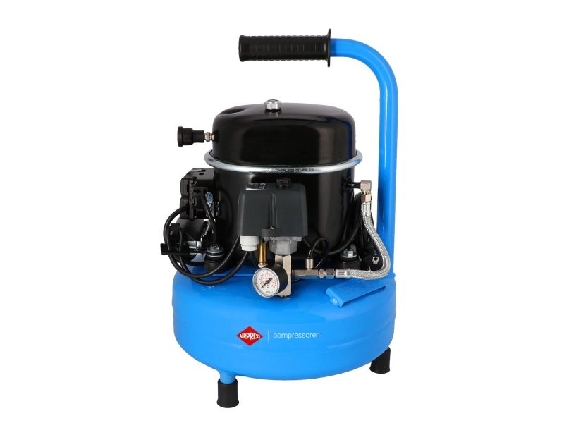 Silent air compressor L 9-75 8 bar 0.5 hp/0.34 kW 60 l/min 9 l