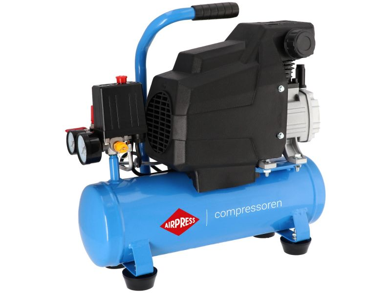 Compressor H 185-6 8 bar 1.5 hp/1.1 kW 75 l/min 6 l