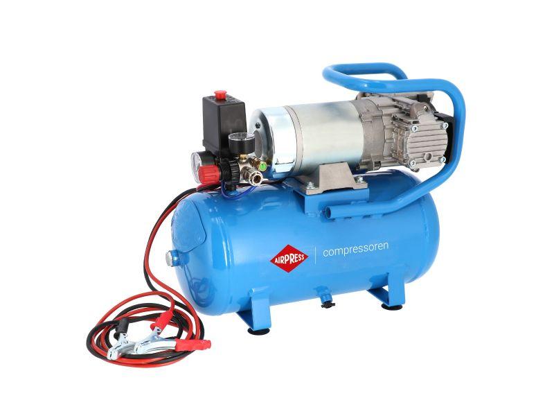 24V Silent Oil free Compressor DC 24-225/15 10 bar 0.75 hp/0.55 kW 180 l/min 15 l