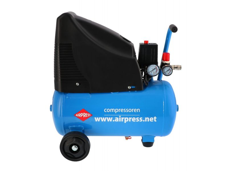 Compressor HLO 215-25 with accessories 8 bar 1.5 hp/1.1 kW 172 l/min 24 l