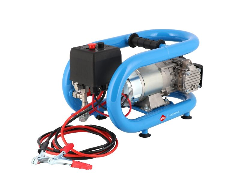Silent oil free Compressor LMO 3-190 8 bar 0.7 hp/0.5 kW 152 l/min 3 l 12V