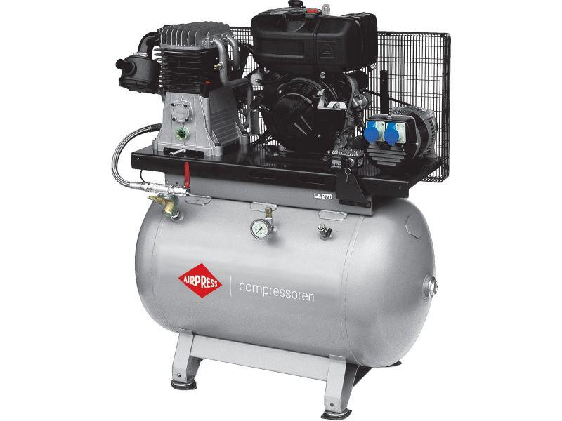 Compressor DSL 270-540 230V 14 bar 11 hp/8.1 kW 444 l/min 270 l