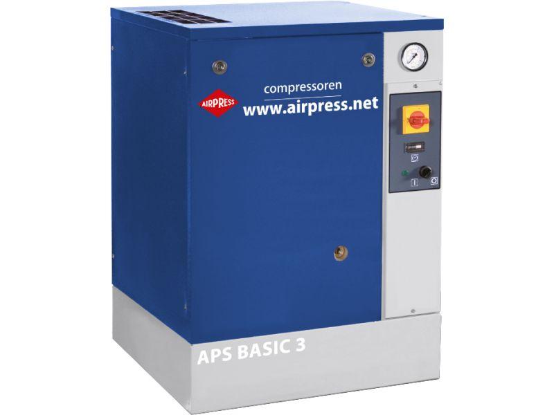 Screw Compressor APS 3 Basic 10 bar 3 hp/2.2 kW 240 l/min