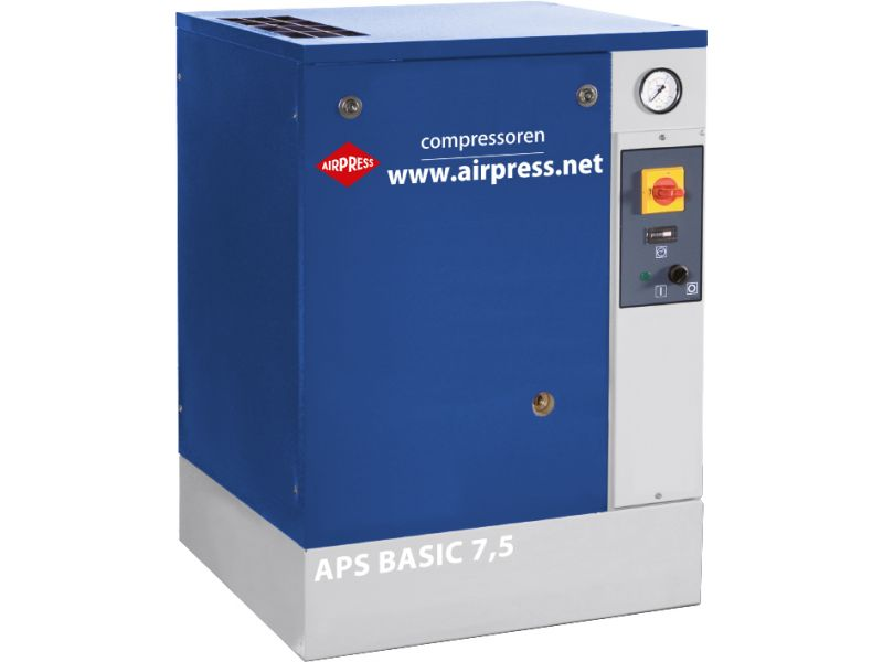 Screw Compressor APS 7.5 Basic 10 bar 7.5 hp/5.5 kW 600 l/min
