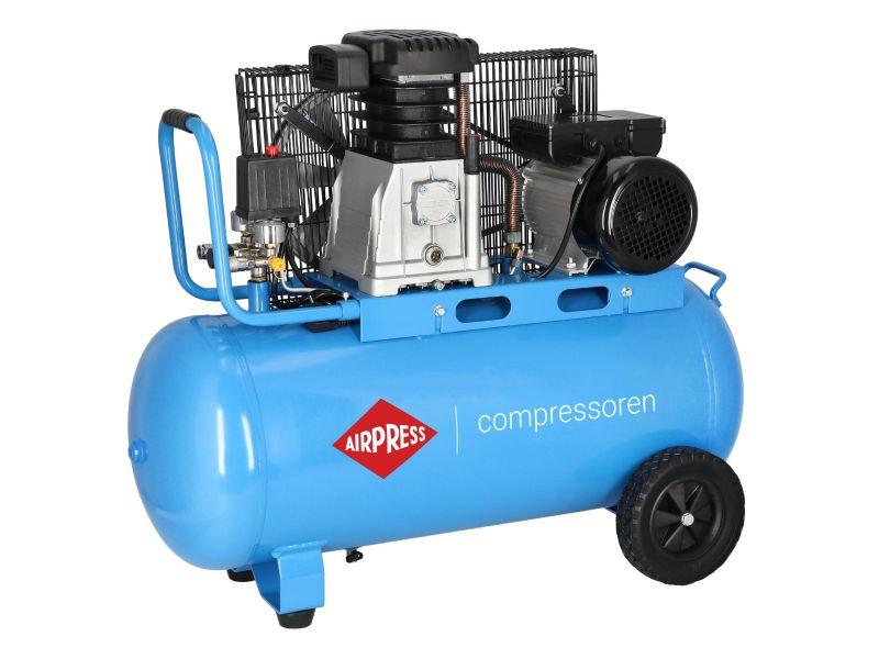 Compressor HL 340-90 10 bar 3 hp/2.2 kW 272 l/min 90 l
