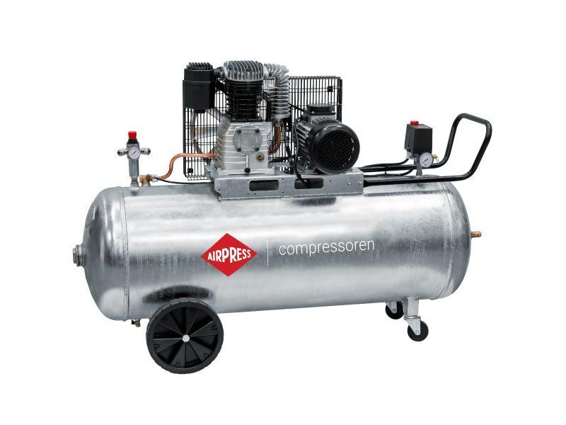 Compressor G 600-200 Pro 10 bar 4 hp/3 kW 380 l/min 200 l galvanized