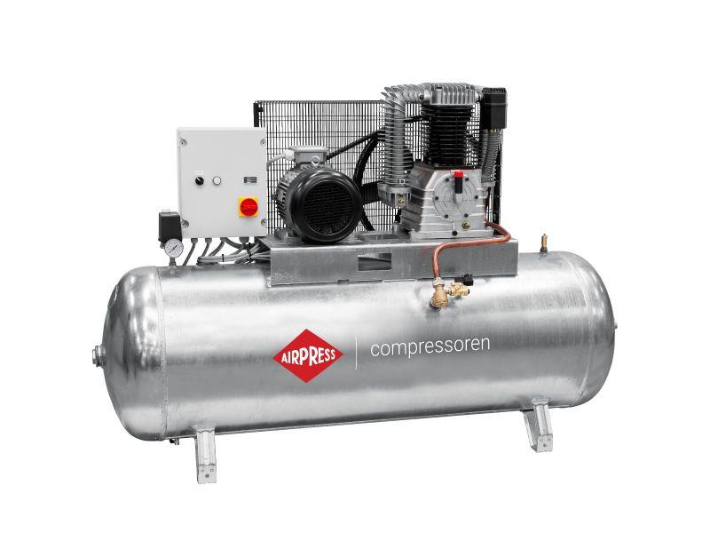 Compressor G 1500-500 SD Pro 14 bar 10 hp/7.5 kW 686 l/min 500 l galvanized star delta switch