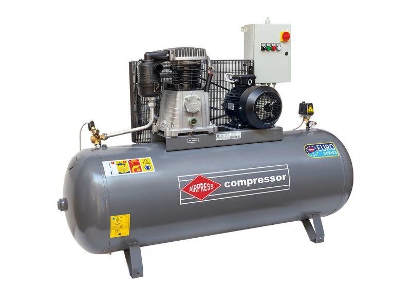 Compressor HK 1500-500 15 bar 10 hp/7.5 kW 1000 l/min 500 l