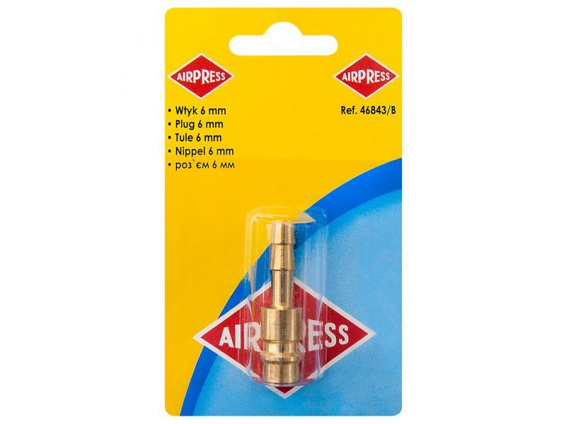 Plugin Nipple Euro 6 mm