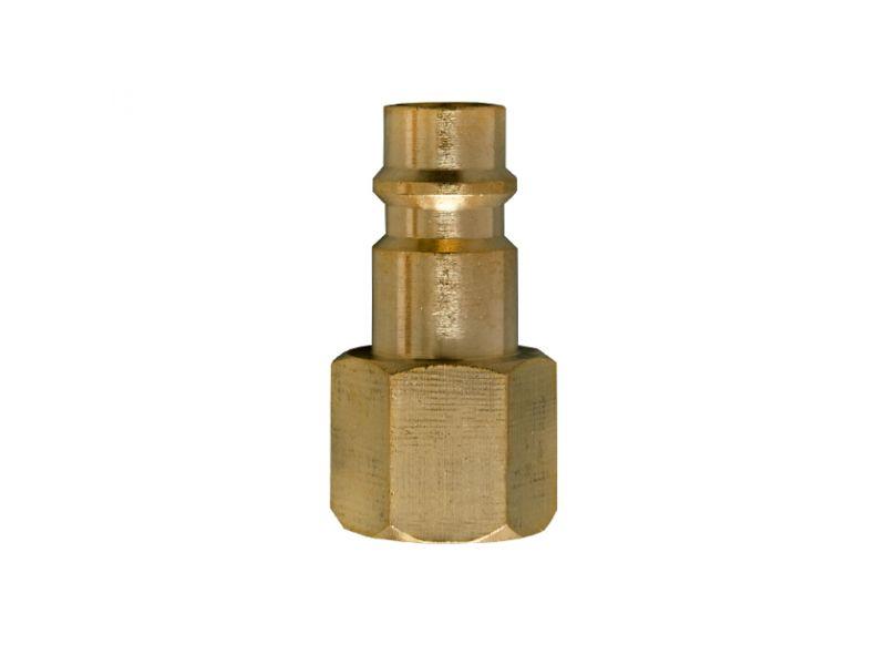 Plugin nipple Euro 3/8