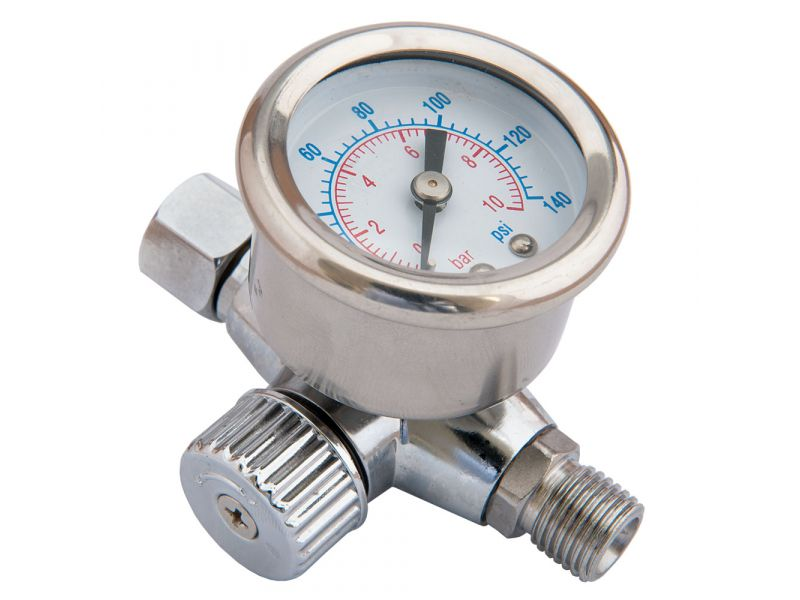 Reducer with Pressure gauge