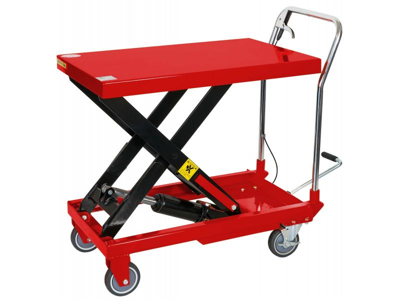 Mobile hydraulic lifting table 500 kg