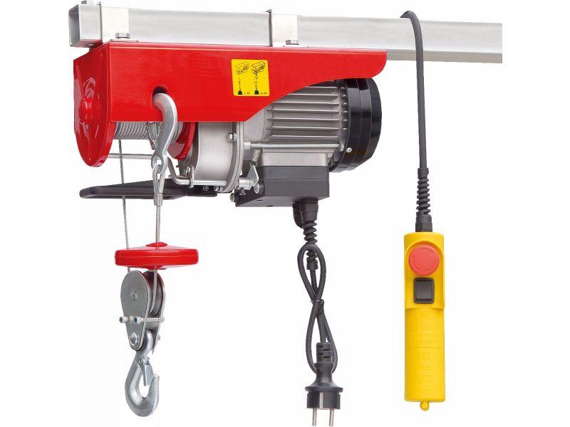 Electric cable hoist 125/250 kg