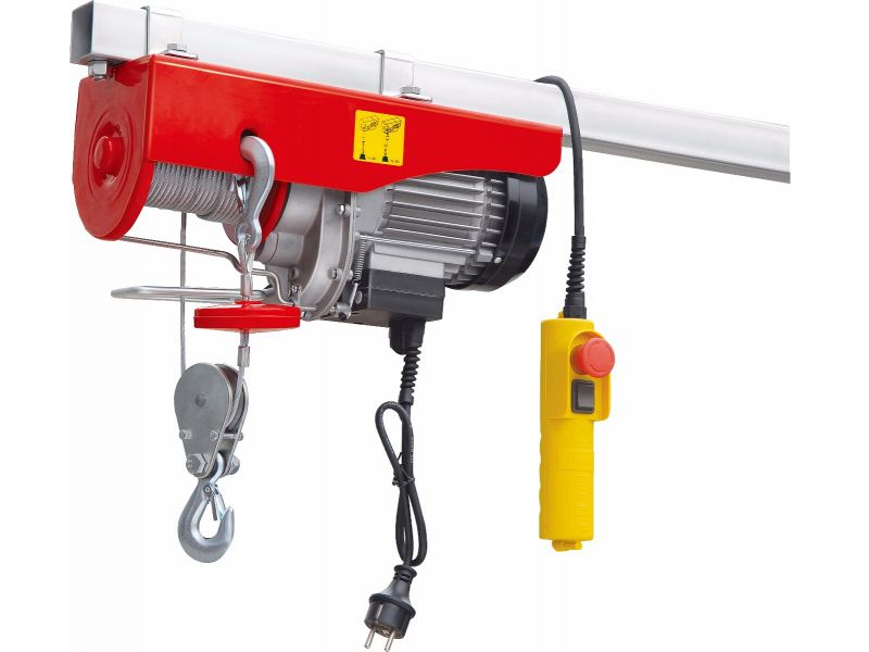 Electric cable hoist 400/800 kg