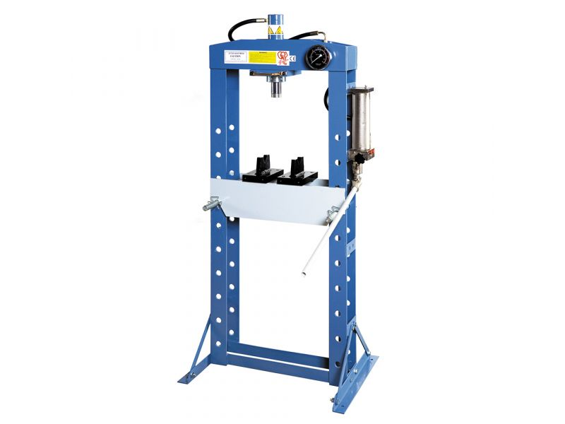 Hydraulic press 20 ton 10 heights 190 mm stroke length