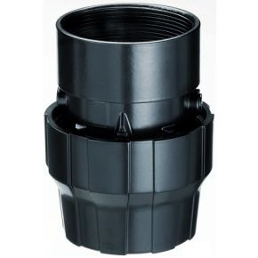 "Aluminium sleeve coupling 50 mm 2"" female"