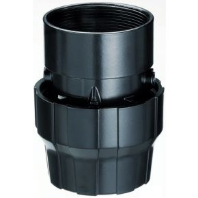 "Aluminium sleeve coupling 25 mm 3/4"" female"