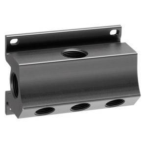 """Wall mount manifold 5 outlets 1/2"""""""
