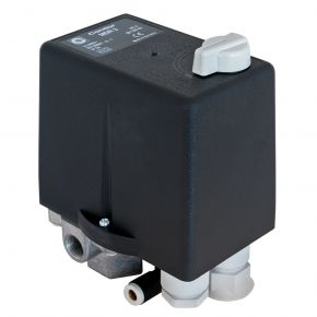 """Pressure switch with thermic relay 1/2"""" 12 bar 16 A"""