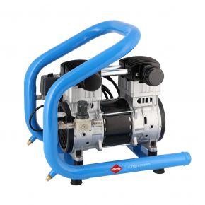 Silent oil free Compressor LMO 196-3 8 bar 1.6 hp/1.2 kW 157 l/min 3 l