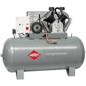 Compressor HK 2000-900 SD 11 bar 15 hp 1395 l/min 900 l star delta switch