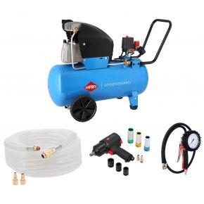 Compressor HL 360-50 10 bar 2.5 hp 288 l/min 50 l Plug & Play
