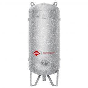 Air receiver 1500 l vertical galvanized 16 bar