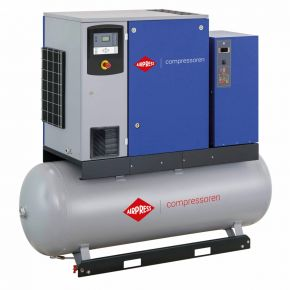 Screw Compressor APS 20DD IVR Combi Dry 13 bar 20 hp/15 kW 258-2290 l/min 500 l