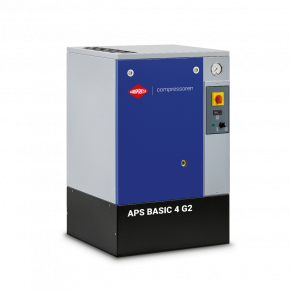 Screw Compressor APS 4 Basic G2 10 bar 4 hp/3 kW 366 l/min