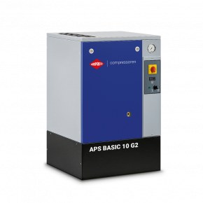 Screw Compressor APS 10 Basic G2 10 bar 10 hp/7.5 kW 984 l/min