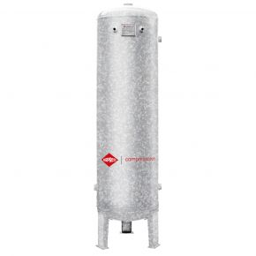 Air receiver 300 l vertical galvanized 16 bar