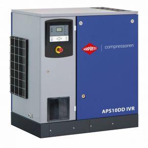 Screw Compressor APS 10DD IVR 12.5 bar 10 hp/7.5 kW 270-1125 l/min
