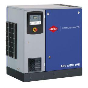 Screw Compressor APS 15DD IVR 12.5 bar 15 hp/11 kW 265-1860 l/min