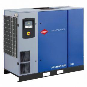 Screw Compressor APS 35BD IVR Dry 13 bar 35 hp/26 kW 770-4835 l/min