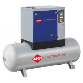 Screw Compressor APS 7.5 Basic Combi 8 bar 7.5 hp/5.5 kW 846 l/min 500 l