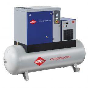 Schroefcompressor APS 10 Basic Combi Dry 10 bar 10 hp/7.5 kW 996 l/min 500 l