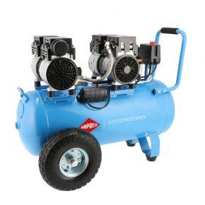 Silent oil free Compressor LMO 50-270 8 bar 2 hp/1.5 kW 185 l/min 50 l