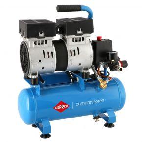 Silent oil free air compressor L 6-105 8 bar 0.6 hp/0.45 kW 25 l/min 6 l