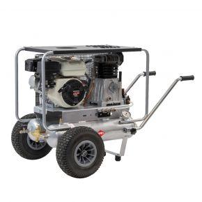 Piston compressor BM11+11/330 Airpress (HONDA GX) 10 bar 5.5 hp/4 kW 330 l/min 2 x 11 l