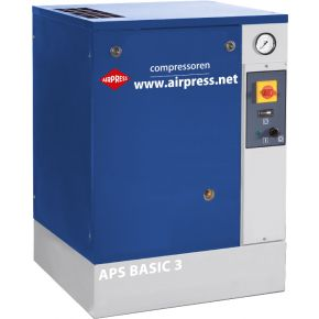 Screw Compressor APS 3 Basic 10 bar 3 hp/2.2 kW 240 l/min