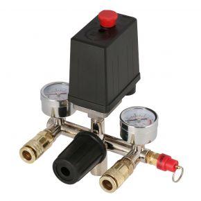 Pressure switch and regulator