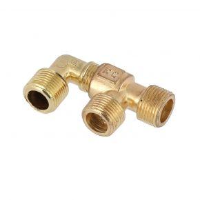 "Knee & T-piece coupling 3/8"" HL 425/50/100"