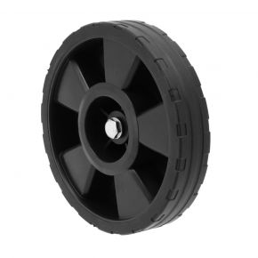Complete set with wheel, washer, axle and nut for HL 340-90