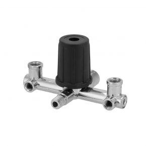 Pressure regulator/casting for various compressors